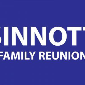 SINNOTT FAMILY REUNION