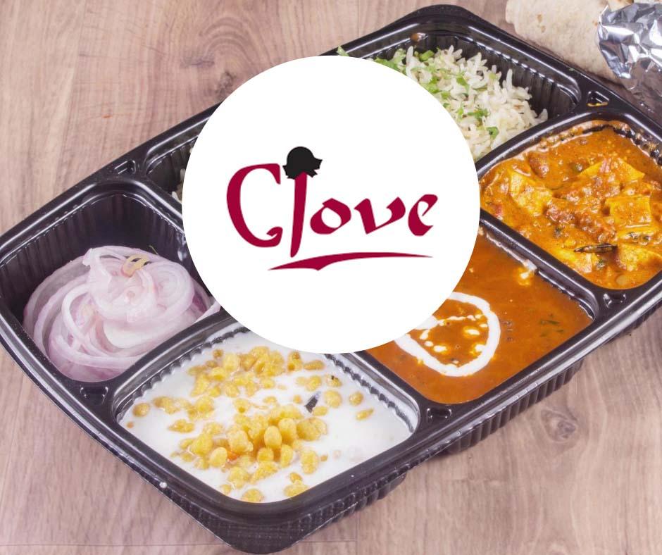 Clove box of food