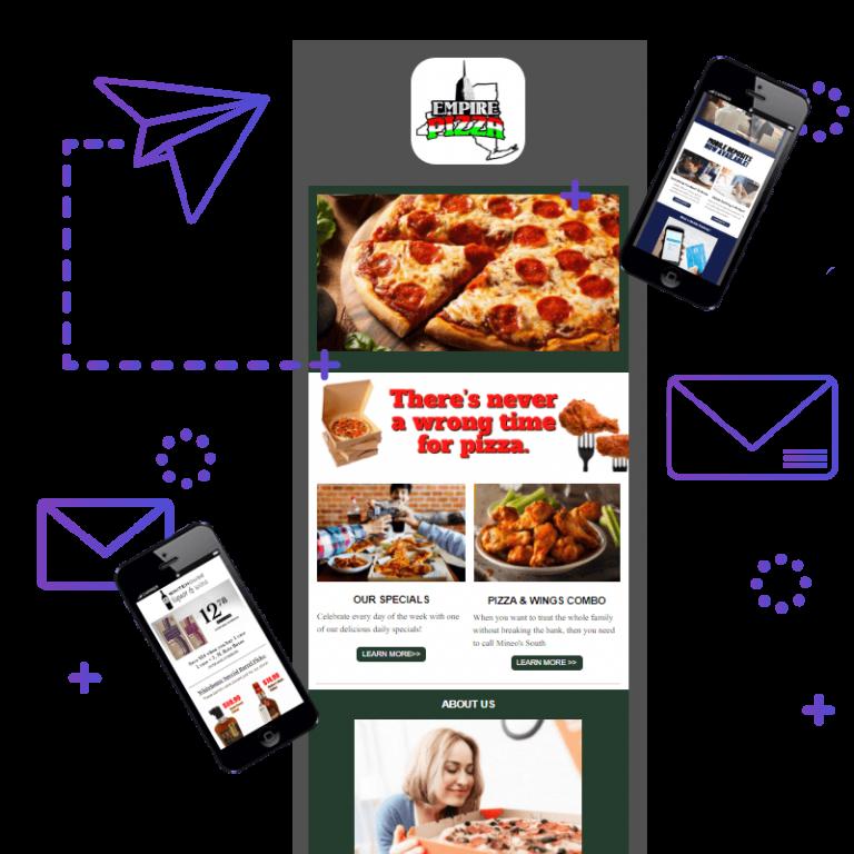 Email Marketing Sample Mockup