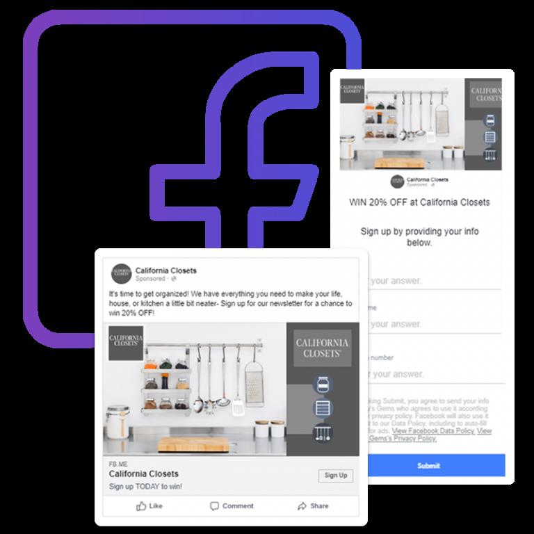 Social Media Marketing Facebook Ad Sample Mockup