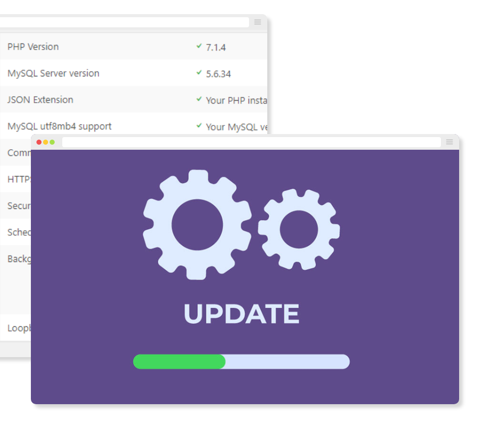 Website Management and Update Tools