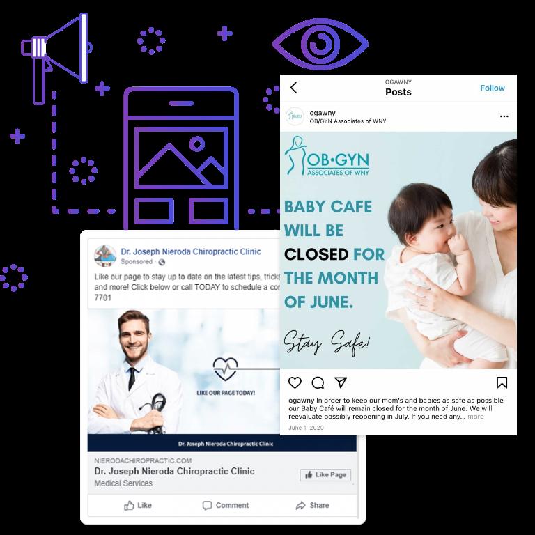 social media post sample