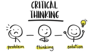 a critical thinking infographic