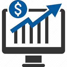 an infographic showing increased sales over time