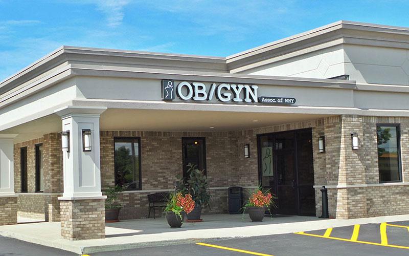 OBGYN Associates of WNY exterior shot.