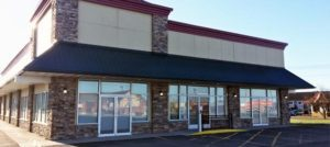 The exterior of our Springville location.