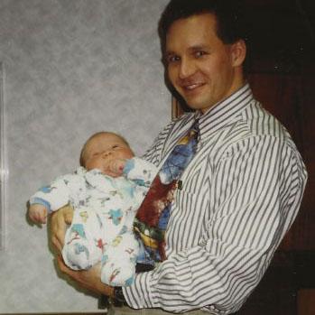 Chris Gartenman as a baby