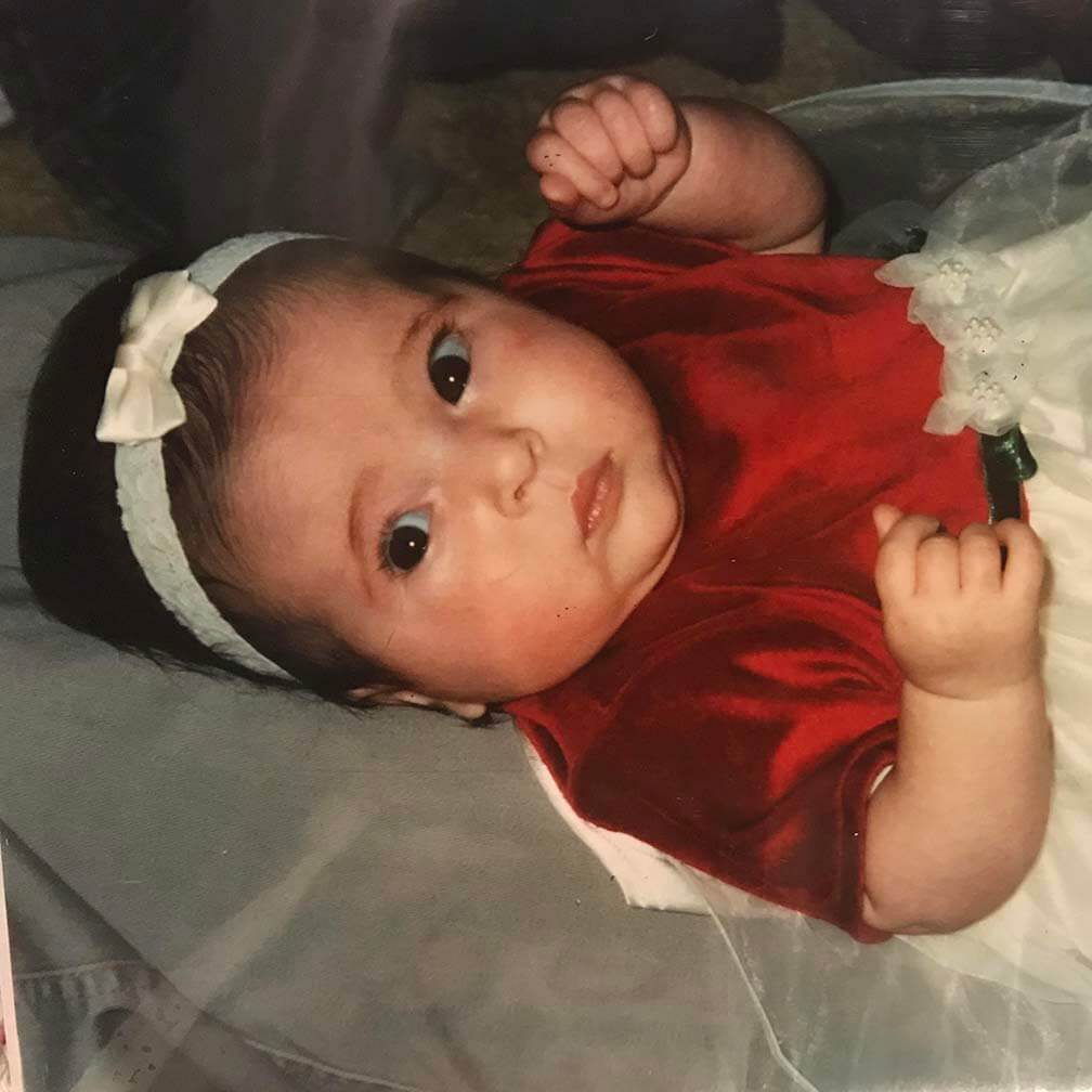 Alexis Ryan, aged 2 months