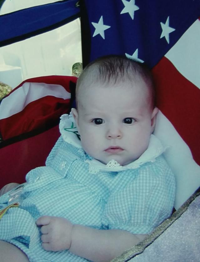 Brooklyn as a baby