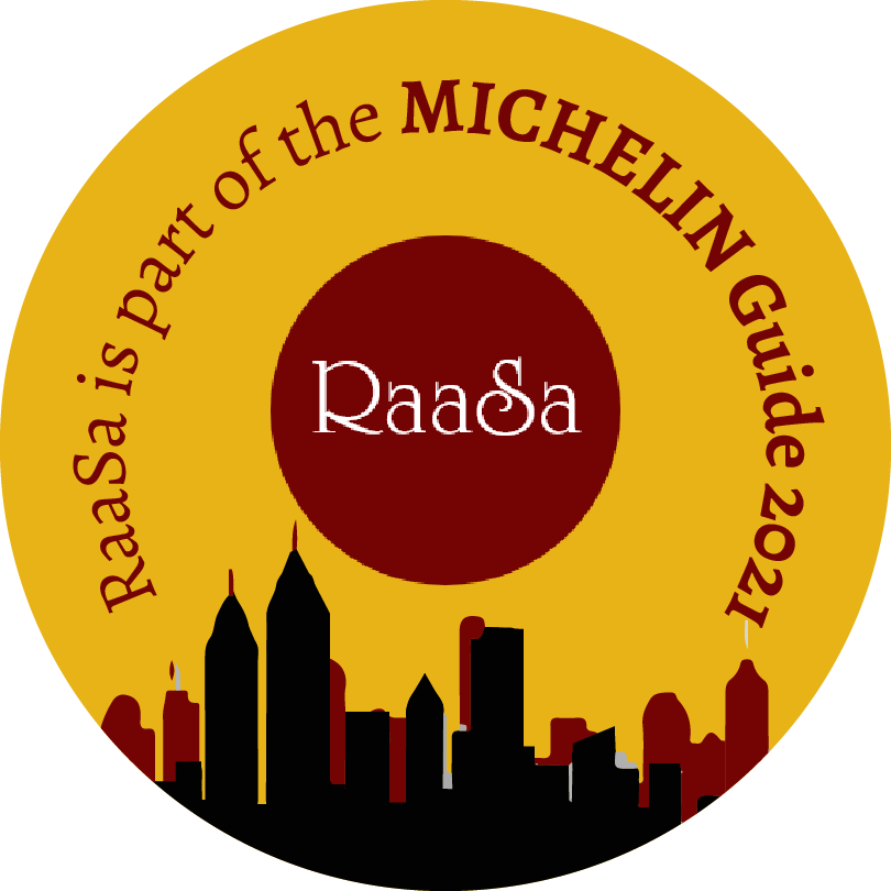 Congratulations, your restaurant RaaSa is part of the MICHELIN Guide 2021