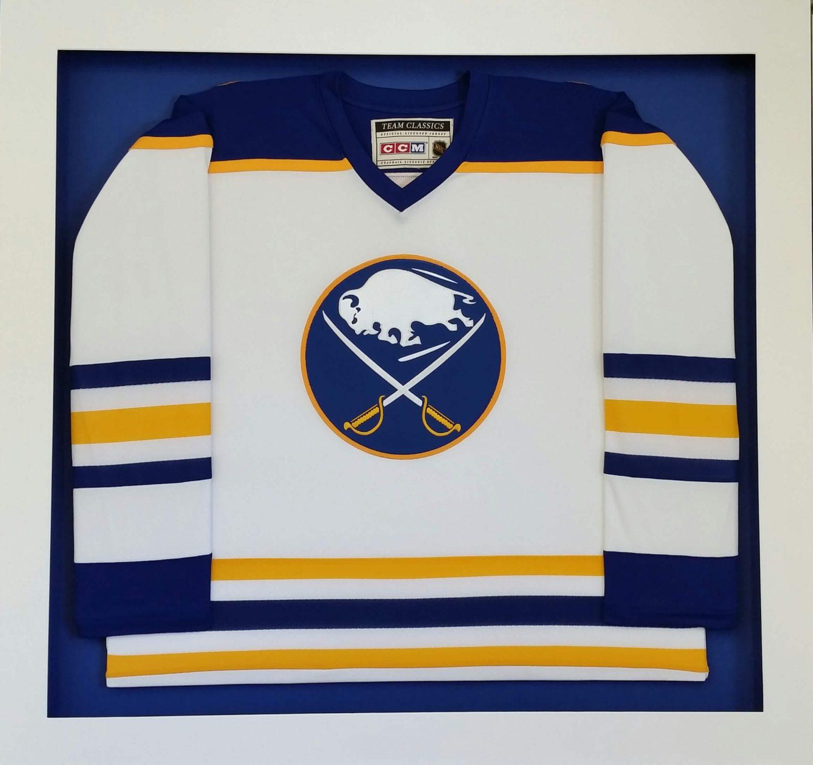 Framed Buffalo Sabres Jersey