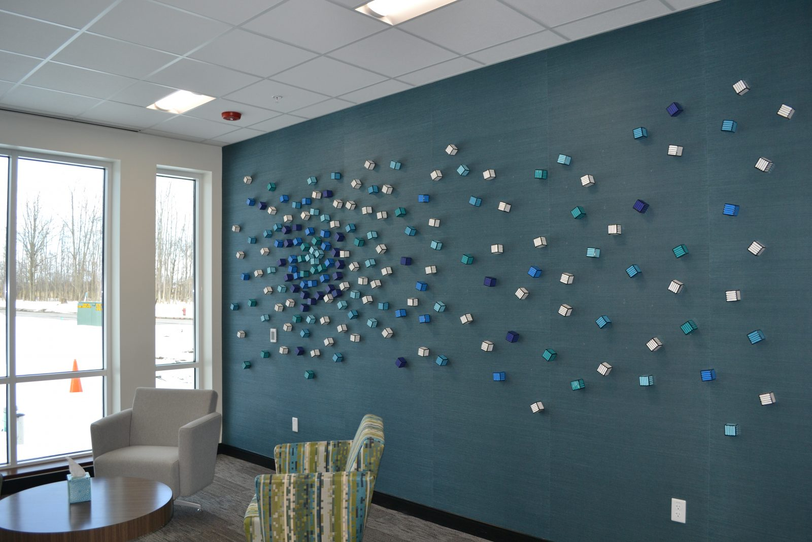 Tommy Moss Scattered Wall Sculpture Pine Pharmaceuticals