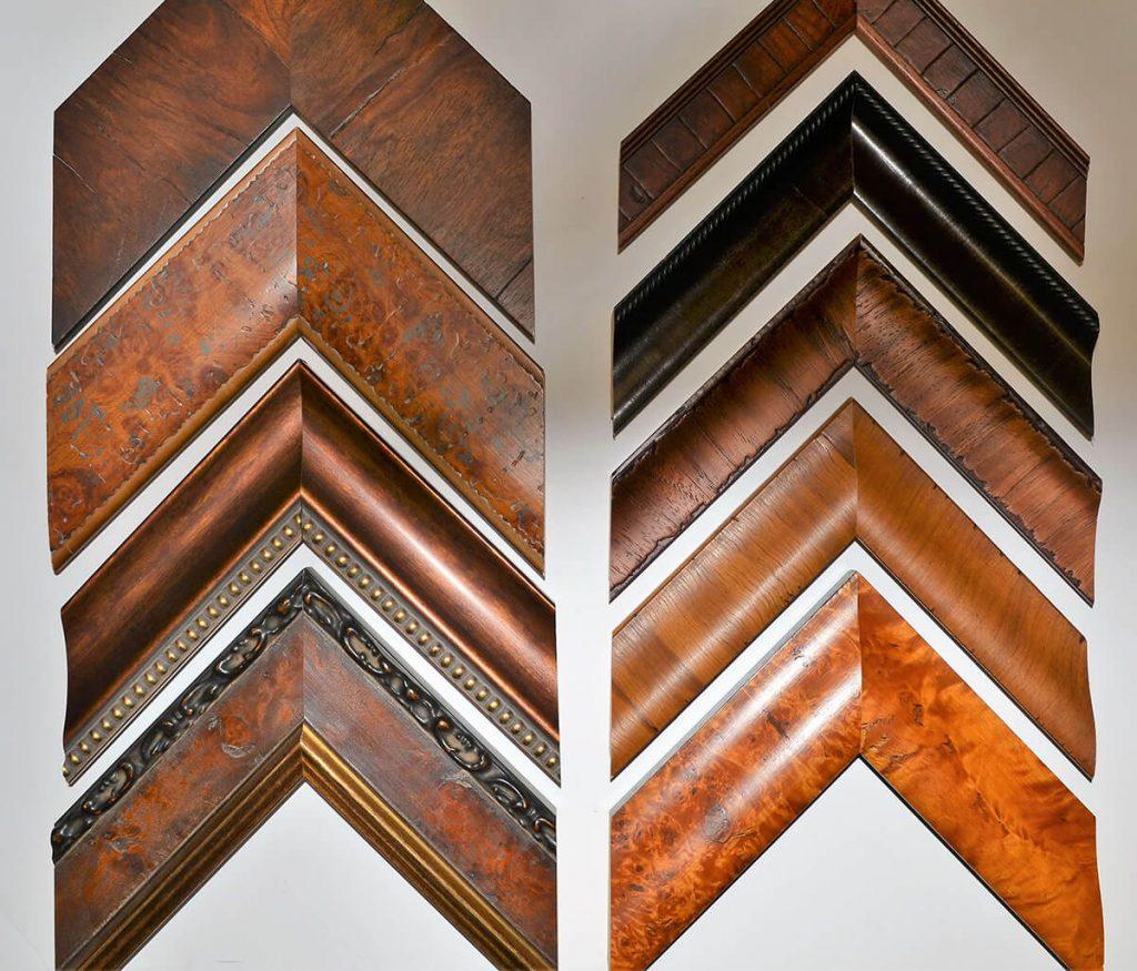 Wood Tone Frames