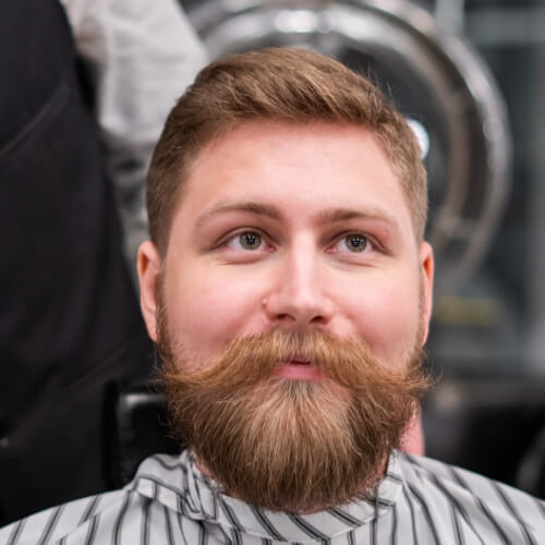 A man with a very nice beard and haircut