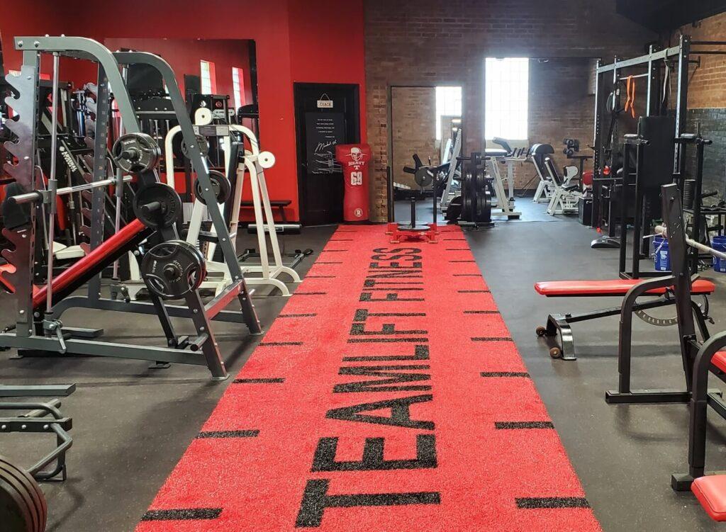 Team Lift Interior workout room