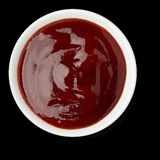 a nice dish of sauce